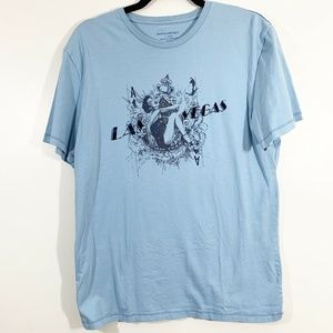Banana Republic Blue ShortSleeve Las Vegas T-Shirt